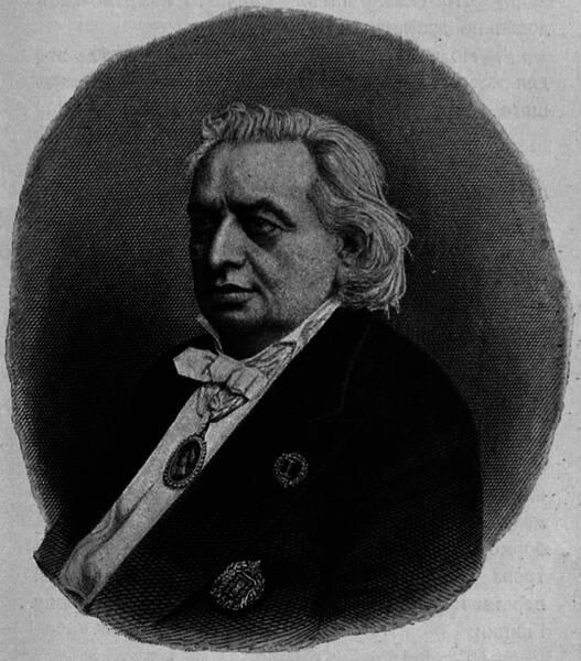 Осипъ Аѳанасьевичъ Петровъ. (Въ 1878 г.).