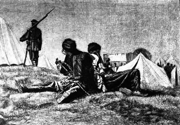Связанные Албанцы.
