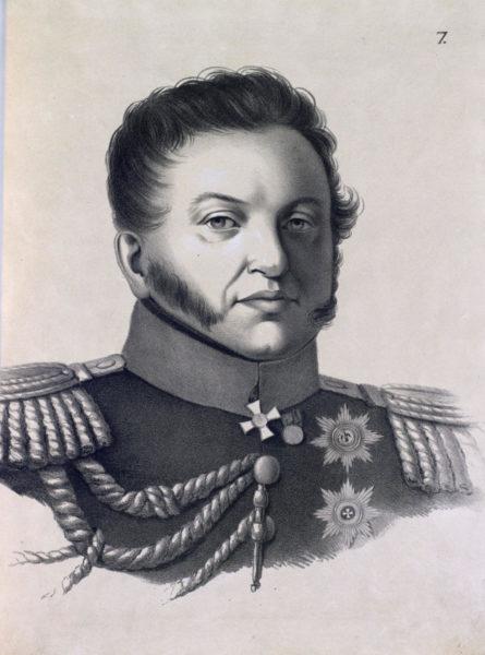 Князь Николай Григорьевичъ Репнинъ, Малороссійскій Генералъ-Губернаторъ.