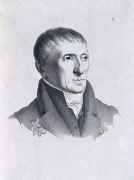 Алексѣй Николаевичъ Оленинъ, Президентъ Императорской Академіи Художествъ.