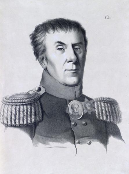 Графъ Алексѣй Андреевичъ Аракчеевъ, Генералъ отъ Артиллеріи.