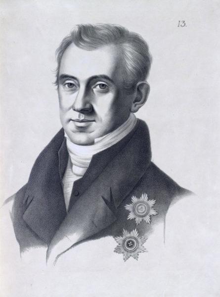 Графъ Иванъ Антоновичъ Каподистріасъ, Статсъ Секретарь.