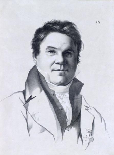 Алексѣй Егоровичъ Егоровъ, Профессоръ Исторической Живописи Академіи Художествъ.