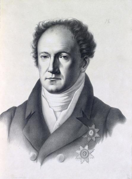 Князь Александръ Николаевичъ Голицынъ, Министръ Духовныхъ Дѣлъ и Народнаго Просвѣщенія.