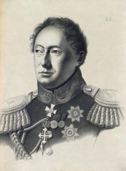 Маркизъ Филипъ Осиповичъ Паулуччи, Рижскій военный Губернаторъ.