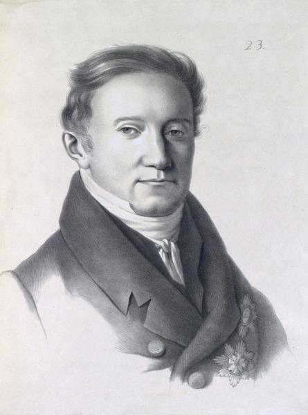 Графъ Соболевскій, Министръ Штатсъ-Секретарь Царства Польскаго.