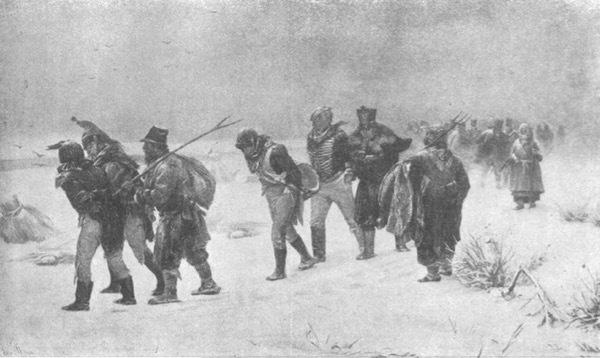 Въ 1912-мъ году. Съ картины И. Прянишникова.