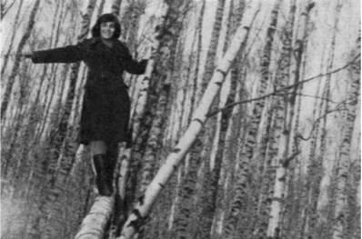 Кадр из фильма «Иваново детство» (оператор В. Юсов)